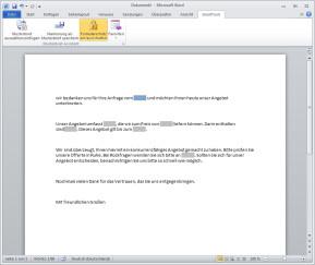 SmartTools Musterbrief-Assistent für Word