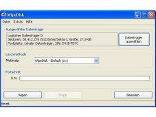 WipeDisk - Daten sicher löschen
