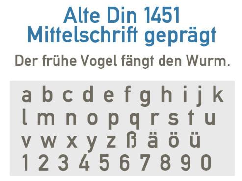 Gratis-Schriften zum Herunterladen: Alte DIN ©COMPUTER BILD