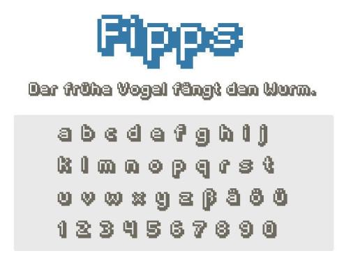 Gratis-Schriften zum Herunterladen Fipps ©COMPUTER BILD
