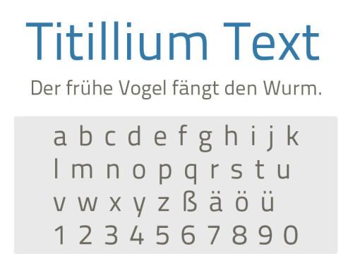 Titillium Text ©COMPUTER BILD