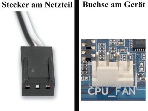 """Bildergalerie """"Die Stecker von Netzteilen"""" Ventilatoren"""