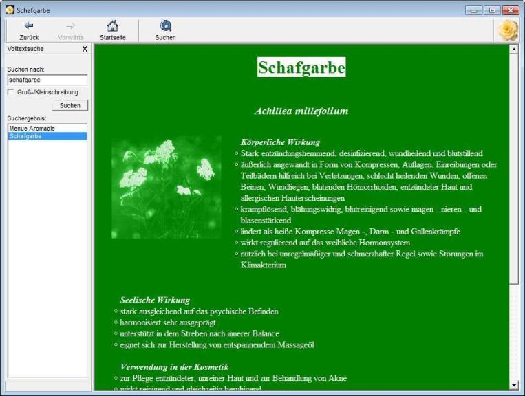 Screenshot 1 - Aromatherapie