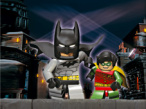 Lego Batman Batman und Robin auf Verbrecherjagd in Gotham City.
