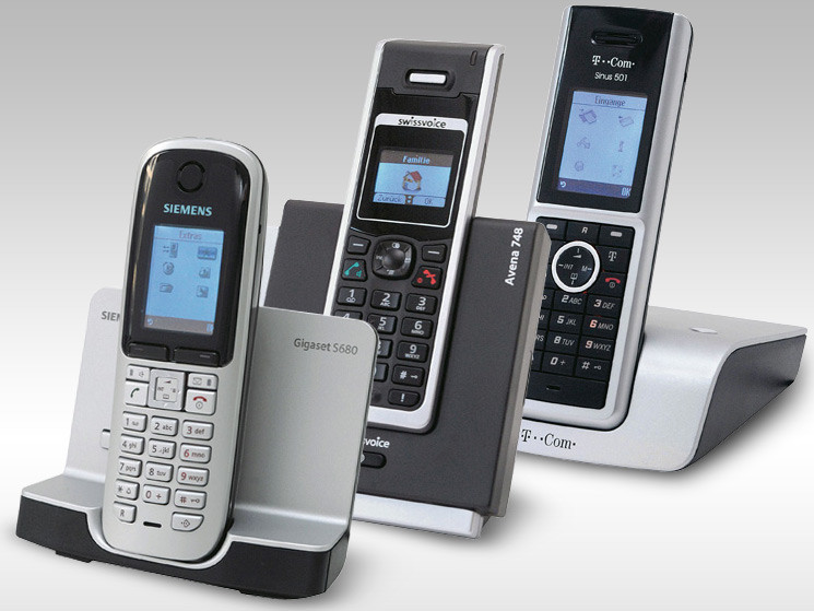 siemens philips swissvoice t com co im test strahlungsarme dect telefone computer bild. Black Bedroom Furniture Sets. Home Design Ideas
