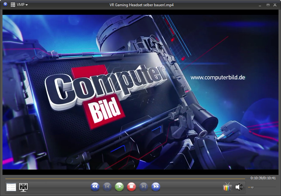 Screenshot 1 - VSO Media Player