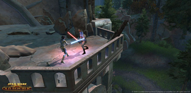 Rollenspiel Star Wars – The Old Republic: Balkon © Electronic Arts
