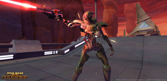 Rollenspiel Star Wars – The Old Republic: Feuer © Electronic Arts