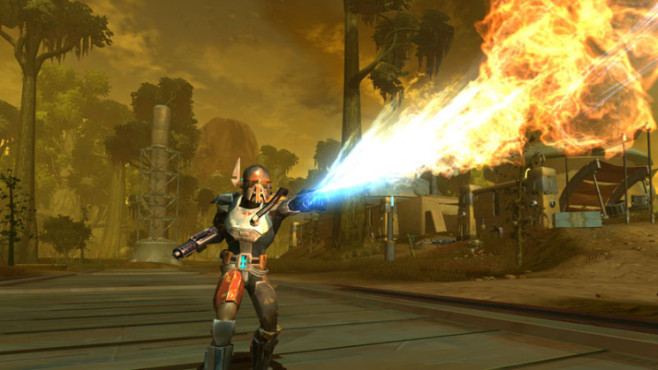 Rollenspiel Star Wars – The Old Republic: Flammenwerfer © Electronic Arts