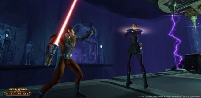 Rollenspiel Star Wars – The Old Republic: Würgegriff © Electronic Arts