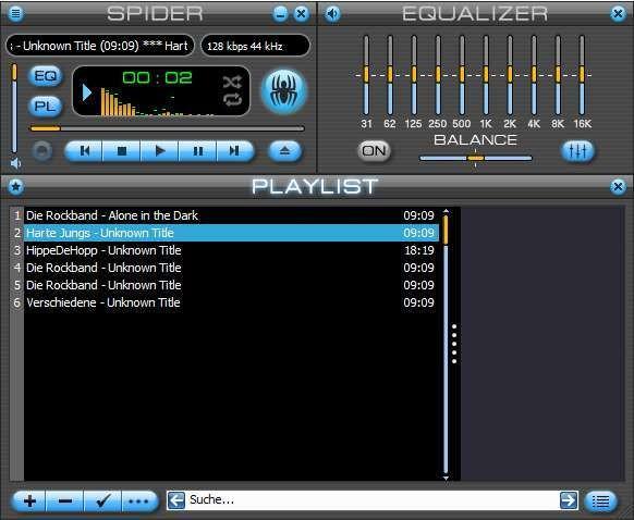 Screenshot 1 - Spider Player Portable