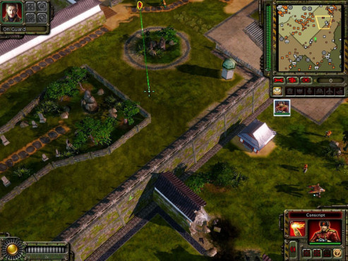 Strategiespiel Command & Conquer – Alarmstufe Rot 3: Garten