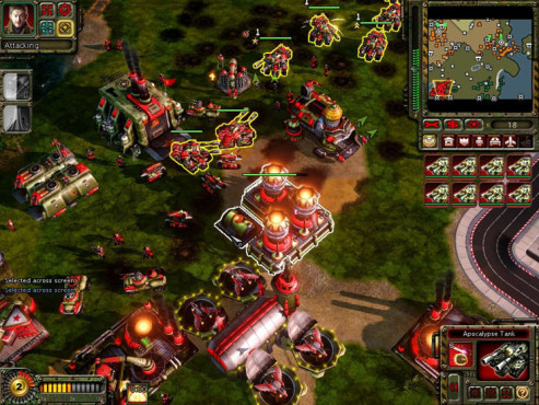 Strategiespiel Command & Conquer – Alarmstufe Rot 3: Gruppen