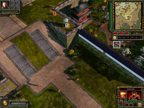 Strategiespiel Command & Conquer – Alarmstufe Rot 3: Treppe