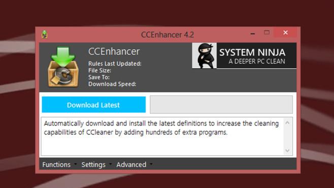 CCEnhancer: Programm erweitern ©COMPUTER BILD