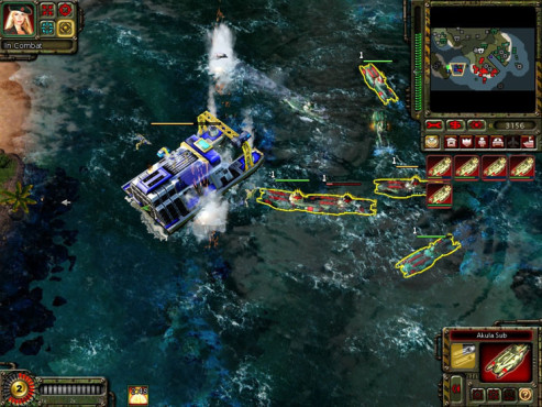 Strategiespiel Command & Conquer – Alarmstufe Rot 3: Torpedo