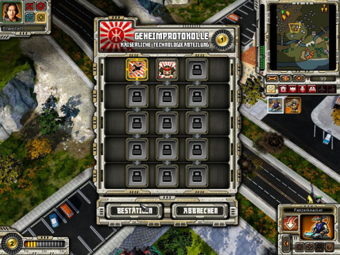 Strategiespiel Command & Conquer – Alarmstufe Rot 3: Technologie