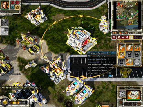 Strategiespiel Command & Conquer – Alarmstufe Rot 3: Uhr