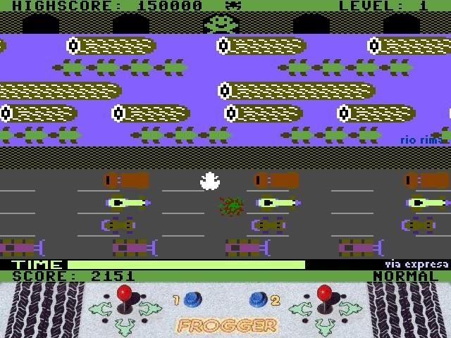 Screenshot 1 - Frogger Mambo