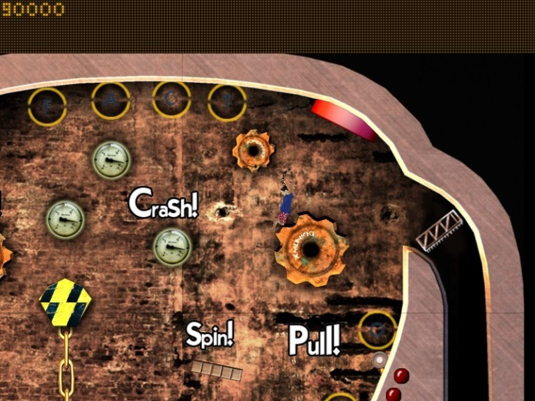 Screenshot 1 - Factory Pinball