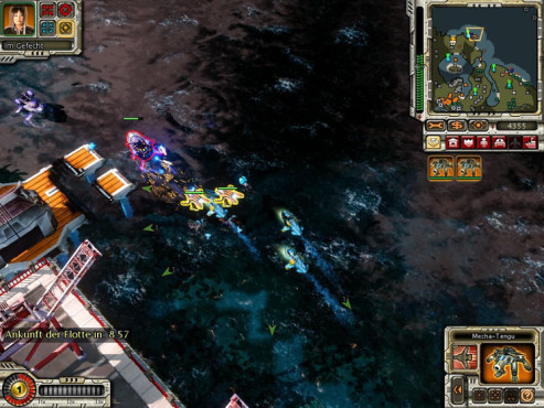 Strategiespiel Command & Conquer – Alarmstufe Rot 3: Hafen