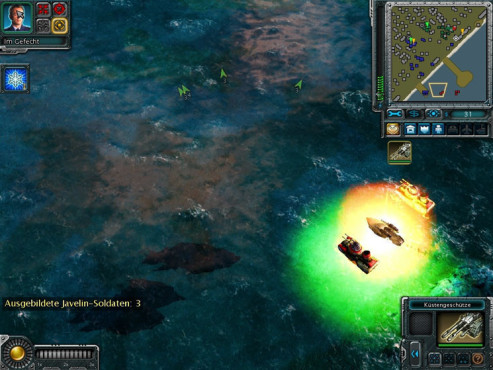 Strategiespiel Command & Conquer – Alarmstufe Rot 3: Boote