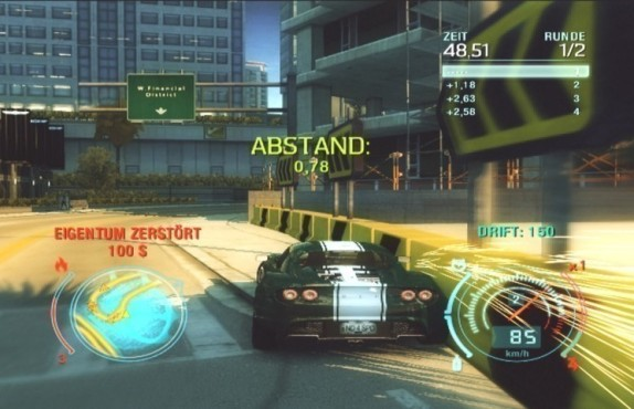 Rennspiel Need for Speed – Undercover: Bande