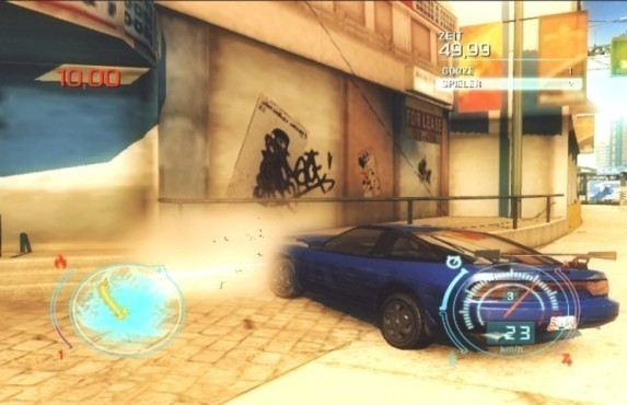 Rennspiel Need for Speed – Undercover: Unfall
