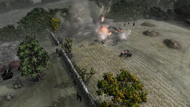 Company of Heroes – Tales of Valor: Beschuss