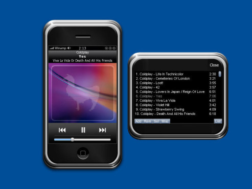 Winamp iPhone
