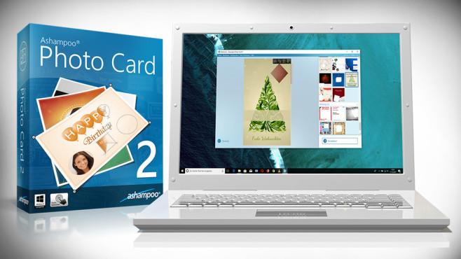 Ashampoo Photo Card – Kostenlose Vollversion: Grußkarten gestalten ©COMPUTER BILD