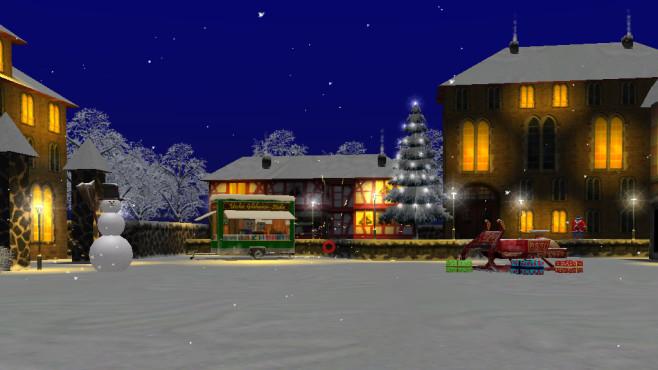 Auf zur großen Schneeballschlacht: Winterliche 3D-Action ©COMPUTER BILD