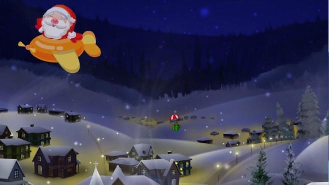 Free Santa Track ScreenSaver: Weihnachtsmann-Tour begleiten ©COMPUTER BILD