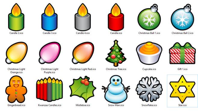 Icons zu Weihnachten: Programme und Ordner verschönern ©COMPUTER BILD