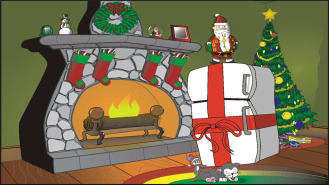Nite Before Christmas: Verspielter Bildschirmschoner ©COMPUTER BILD