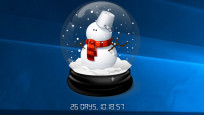 Snow Globe Countdown: Tage zählen mit Schneekugeln©COMPUTER BILD