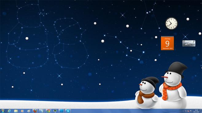 Snow man snow child: Stimmungsvolles Schneemann-Bild ©COMPUTER BILD