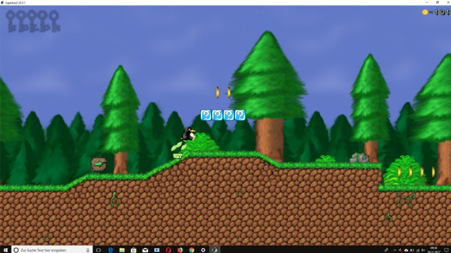SuperTux: Hüpfspiel mit Pinguinen ©COMPUTER BILD