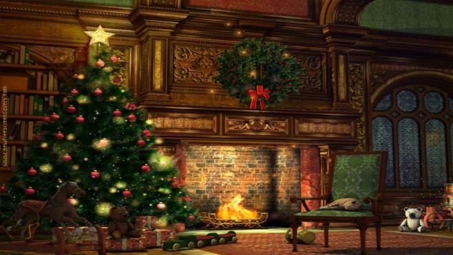 nfsChristmasFireplace: Weihnachten virtuell erleben ©COMPUTER BILD