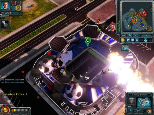 Strategiespiel Command & Conquer – Alarmstufe Rot 3: Stadion