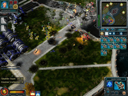 Strategiespiel Command & Conquer – Alarmstufe Rot 3: Tarnung