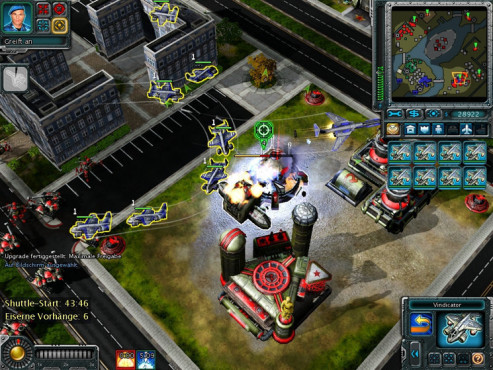 Strategiespiel Command & Conquer – Alarmstufe Rot 3: Vorhang