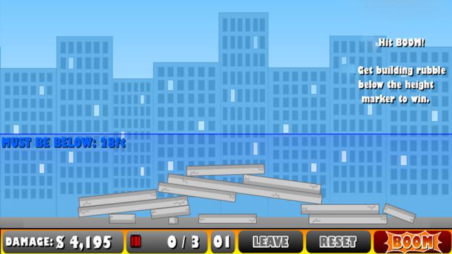 Demolition City ©Armor Games