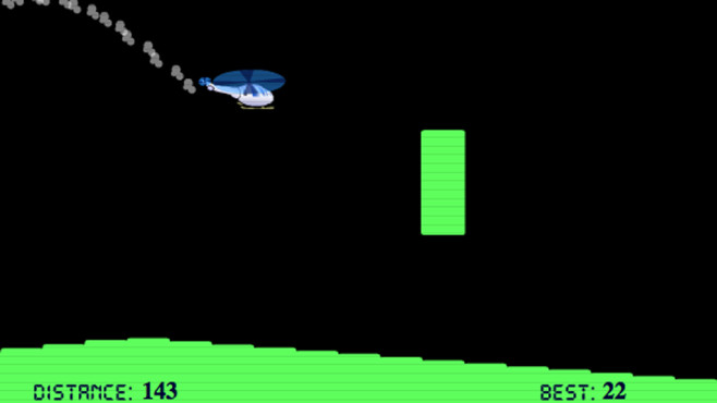 The Helicopter Game ©Helicopter Game