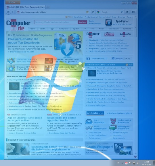 Screenshot 1 - DeskAngel