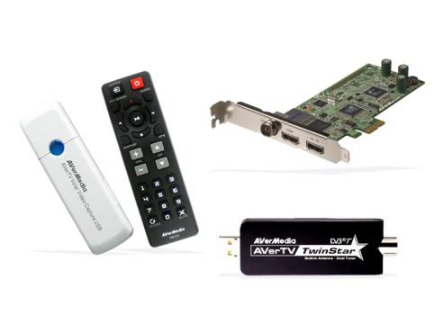 Capture HD, Volar Video Capture USB, TwinStar A825: DVB-T-Empfänger von Aver Media