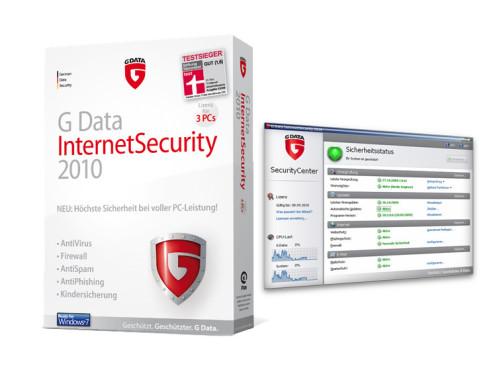 G Data InternetSecurity 2010: Internet-Sicherheitspaket