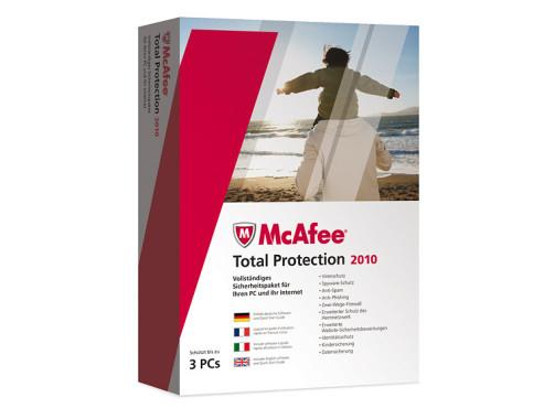 McAfee Total Protection 2010: Sicherheitsprogramm