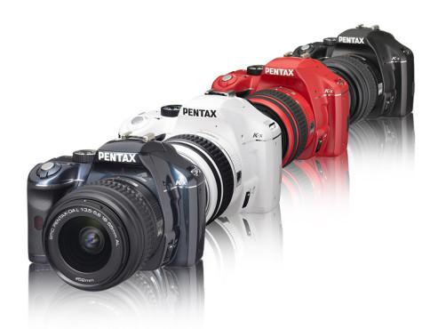 Pentax K-x: Digitale Spiegelreflexkamera