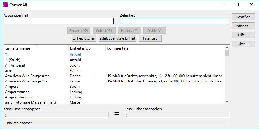 Screenshot 1 - ConvertAll